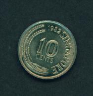 SINGAPORE - 1982 10c Circ. - Singapore