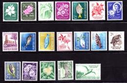 NORFOLK  Faune Oiseaux, Poissons, Fleurs,  Yvert N° 26/44 Neuf Sans Charniere ** MNH - Ile Norfolk