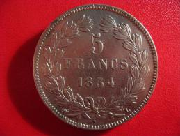 5 Francs Louis-Philippe 1834 L Bayonne 2409 - J. 5 Franchi
