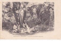 ¤¤  -  NOUVELLES-HEBRIDES   -   Préparation D'un Gâteau D' Ignames  -  ¤¤ - Vanuatu