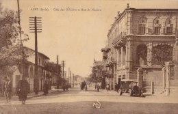 ¤¤  -  SYRIE   -   ALEP   -  Club Des Officiers Et Rue De Naoura  -  ¤¤ - Syrië
