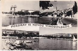 Yugoslavia--Pozdrav Iz Novog Vinodolskog--1966-a Sotteville Les Rouen, Francia - Yugoslavia