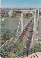 Yugoslavia--Budapest--1971--Elisa Beth Bridge-Tranvias--fechador-Budapest--Fleurop-Interflor - Yugoslavia