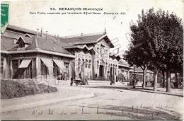 Besançon (25) - Gare Viotte (Construction Alfred Ducas - Ouverte En 1855) - Circulé En 1911 - Besancon