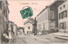 Carte Postale Ancienne De RAUCOURT - France