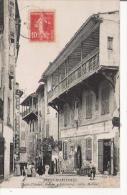 PUGET THENIERS 387 ALPES MARITIMES RUE DU 4 SEPTEMEBRE VIEILLES MAISONS  1908 (PETITE ANIMATION) - Frankreich