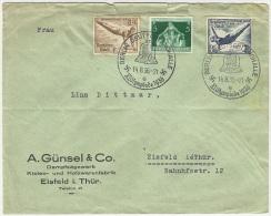 Germany 1936 Berlin To Eisfeld Postal Cover - Briefe U. Dokumente