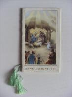 """Calendarietto/calendario Santino """"Anno Domini 1954"""" Collegio Serafico Missionario - Calendari"""