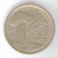 SPAGNA 5 PESETAS 1997 - [ 5] 1949-… : Regno