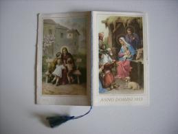 """Calendarietto/calendario Santino """"Anno Domini 1953"""" Pie Discepole Del Divin Maestro - Calendari"""