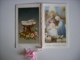 """Calendarietto/calendario Santino """"Anno Domini 1954"""" - Calendari"""