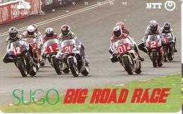 TARJETA DE JAPON DE MOTOS (MOTO-MOTORBIKE) SUGO - Motos