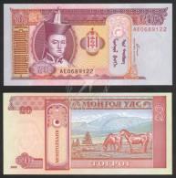 2002-2009 MONGOLIA BANKNOTE 20 UNC - Mongolia