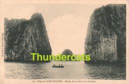 CPA VIETNAM VIET NAM  TONKIN BAIE D'ALONG **  ENTREE DE LA BAIE DE LA SURPRISE - Viêt-Nam