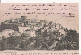 GATTIERES 1131 LIGNE DU SUD DE LA LA FRANCE . VALLEE DU VAR  . ALT 286 M   1904 - Frankreich