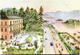 Stresa-Lac Majeur (Italie) - Hôtel Bristol (Plage-Jardin-Garage) - Verbania