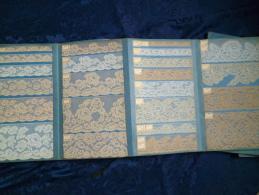 Livre Ancien - Carnet De Dentelles Anciens - Other Collections