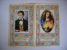 """Calendarietto/calendario Santino """"Sacro Cuore Di Gesù - S.Domenico Savio"""" 1973 Santuario Salesiani - BOLOGNA - Calendari"""