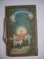 "Calendarietto/calendario Santino ""Casa Editrice ROMOLO GHIRLANDA Libreria Pontificia Arcivescovile Milano"" 1938 - Calendari"