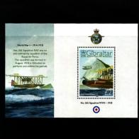 GIBRALTAR - 2008  R.A.F.  MS  MINT NH - Gibilterra