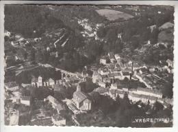 VABRE 81 - Vue Générale Aérienne - CPSM Dentelée  GF - Tarn - France