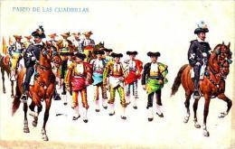 Spain Bullfight Paseo De Las Cuadrillas