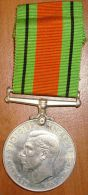 """Médaille GB WW2 """"Defence Medal"""" - 1939-45"""