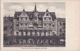 GERMANY- BOPPARD AM RHEIN - HOTEL ZUM HIRACH - Boppard