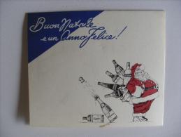 """Calendarietto/calendario 1949 SILVA Di V.BIANCHI - MILANO """"Buon Natale E Un Anno Felice!"""" Liquore/vino - Calendari"""