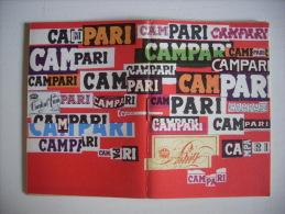 """Calendario """"PREZIOSO  Omaggio Davide Campari MILANO 1965"""" Copertina BRUNO MUNARI - Calendari"""