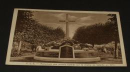 Ansichtskarte   PdC Mounument Des Soldats Tombes Feldpost   #AK4304 - War Memorials