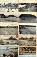 22  SAINT QUAY PORTRIEUX  LOT 10 CARTES ANCIENNES - Saint-Quay-Portrieux