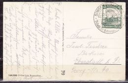 AK Konstanz, EF Eisenbahn, SoSt Singen, Nach Eberstadt 1935 (40431) - Covers & Documents