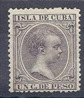 130605544  COLCU  ESP.   EDIFIL Nº  146  *  MH - Cuba (1874-1898)