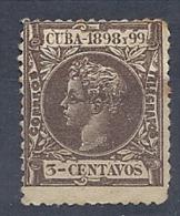 130605562  COLCU  ESP.   EDIFIL Nº  161  *  MH - Cuba (1874-1898)