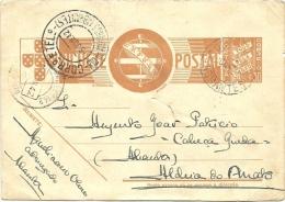 ABRANTES 5 JUNHO 1942 - Enteros Postales