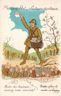 THEMES MILITARIA- SECTEURS POSTAUX -Faites Des Heureux écrivez-nous Souvent - Militaria