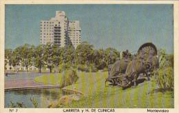 Uruguay Montevideo Carreta y H. De Clinicas