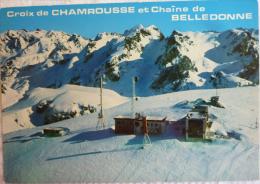 Croix De CHAMROUSSE Et Chaîne De BELLEDONNE - Cpsm Non écrite Correcte - Chamrousse