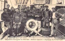 REPRO CP - ILE ET VILAINE - SAINT MALO - EXPEDITION MISSION CHARCOT - EQUIPAGE DU POURQUOI PAS - Saint Malo