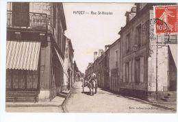 Cpa Mayet  (72) , Rue Saint Nicolas - Mayet