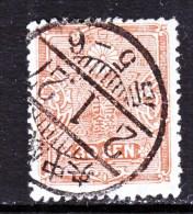Japan 141  Old Die  (o)  Wmk Zig Zag - Used Stamps