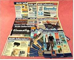 18 X ALDI Informiert Reklame Prospekte Von 2004 Bis 2007 -  Insgesammt  Ca. 220 Seiten - Reklame