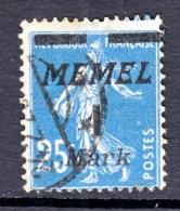 Memel  62  (o) - Memel (1920-1924)