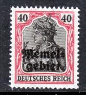 Memel  8  ** - Unused Stamps