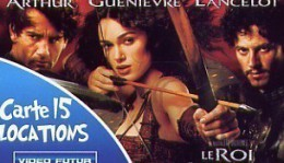 "@+ Carte VIDEO FUTUR ""15 LOCATIONS"" - LE ROI ARTHUR. - Frankreich"