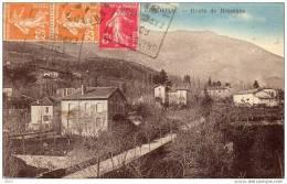 CPA -   GENOLHAC  (30)    Route De Bessèges  -  Cachet  Grand Combe Foire Exposition - France