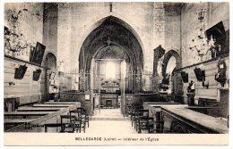 CP, 45, BELLEGARDE, Intérieur De L'Eglise, Voyagé En 1931 - Autres Communes