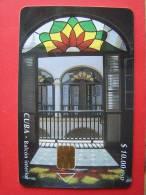 $10, 30.000, Chip Phone Card , Balcon Interior - Cuba