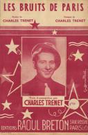7268 - Charles Trenet     Les Bruits De Paris - Partitions Musicales Anciennes